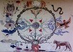 medicine wheel canvas 2